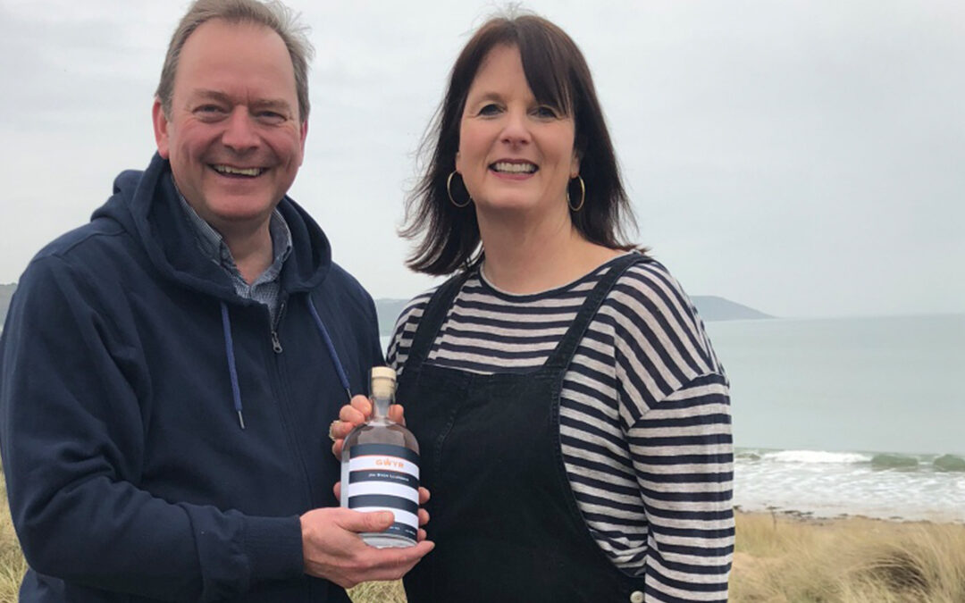 10 Minutes with Sian and Andrew Brooks from Gower Gin